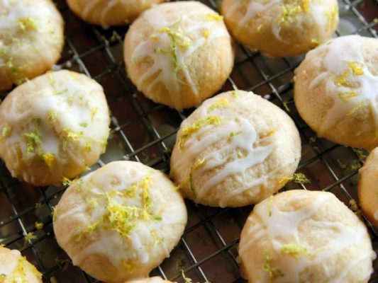Coconut and Lime Cookies