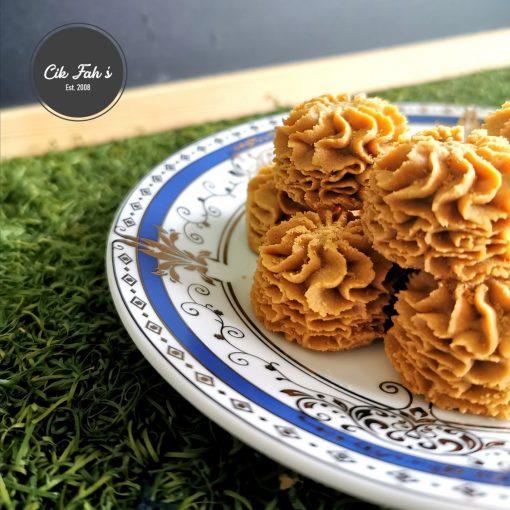 Espresso Dahlia Cookies - Cik Fah's