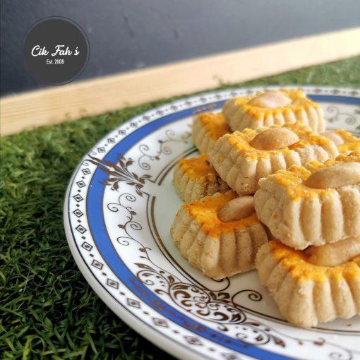 Peanut Cookies - Cik Fah's