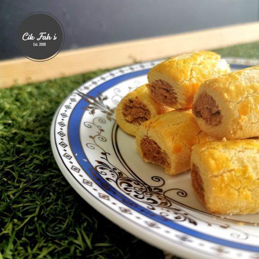 Peanut Rolls - Cik Fah's